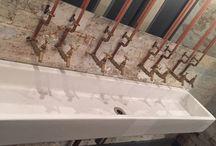 Caravan Restaurant, Bankside / Reclaimed Long Sinks