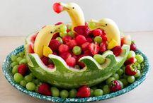 Frugt dessert