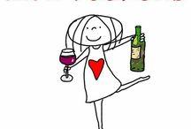 fijn weekend   wijn haha