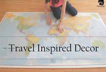 Travel Inspired Decor