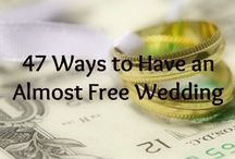 Budget wedding ideas / Collecting ideas & tips for a budget friendly wedding!