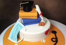 Graduation Cakes / Congratulations to all the new graduates! Here are a few of the creations we've made for our recent grads.