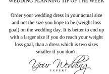 Wedding Planning Tip of the Week