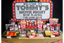Movie Night Party / Movie night themed party for your next celebration or even for your next family movie night!