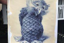Owls 'n coffee
