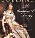 The Josephine B. Trilogy: covers / I love to see all the various cover designs together.