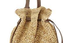 Raphia crochet Bags