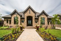 Mont Royal - South Jordan / Located in the prestigious community of Nelson Farms in South Jordan, this custom home was hand crafted with luxury in mind. A seamless blend of rich finishes and ornate designs, the custom touches are what truly make this house a home. Lane Myers Construction fought to design a home that was appropriately situated on the lot, yet could still include the square footage and layout our client was looking for.