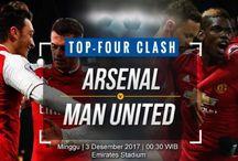 Prediksi Arsenal vs Manchester United 03 Desember 2017