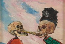 Intrigue: James Ensor by Luc Tuymans / Images and reviews of the exhibition about James Ensor at the Royal Academy