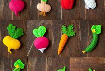 dessein légumes