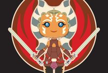 Star Wars Art by EnriqueV242 / Star wars vector art by EnriqueV242, prints and t-shirts
