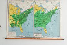 New Arrivals June 2014 - Genuine Vintage Maps / Our lastest arrivals, gorgeous maps...