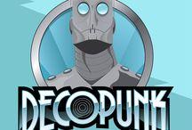 """""""Decopunk"""" / Atoms, Steam and Gasoline"""