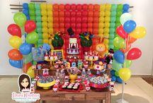 Festa Circo / Festas Criativas e Personalizadas você encontra aqui. Procurando fofuras para a sua festa? Na nossa loja tem! http://loja.danifestas.com.br/