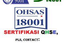 QHSE SERTIFIKASI WAJIB BAGI PERUSAHAAN CONTRACTOR / BILA PERUSAHAAN ANDA BERGERAK BIDANG KONTRAKTOR DAN MAU MENCOBA IKUT TENDER DI PROYEK PEMERINTAH MAKA DI PASTIKAN ANDA HARUS MEMILIKI SERTIFIKASI QHSE - ISO 9001 I OHSAS 18001 I ISO 14001 I telp kami di 0813801 63185 I www.dpkonsultan.com