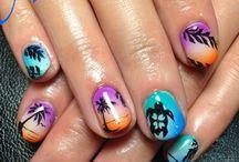 Make up et nail art