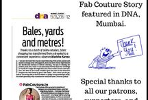Fab Couture feature in Media / We are feeling proud and ecstatic to share with you all, Fab Couture story has been featured in today's DNA Newspaper, Mumbai Edition. This is just a start, and we have a long way to go! But this would not have been possible without your love and support! Heartfelt thanks to our patrons, supporters and customers! Read complete story at http://goo.gl/kwprna
