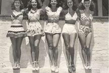 trajes de baño años 30
