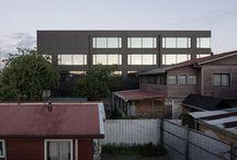 Edificio Integra / Edificio Integra en Osorno de Arturo Scheidegger + Ignacio García Partarrieu Arquitectos, producto Quadrolines 30/15 en sus fachadas.