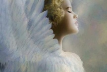Angels / There are Angel's among us everyday even though we don't see their wings. / by Teresa Scroggins White