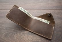 Create it... leather wallets