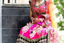Indian Bridal Lookbook / Get inspired by these gorgeous Indian Bridal looks. Want more? Log on to www.myweddingplanning.in!