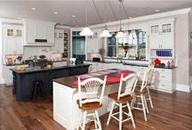 4 Trends That Define the New Open-Plan Kitchen / The kitchen has always been the center of a family's social activity – and more so these days, with open floor layouts where the living room and dining areas all flow smoothly into one Great Room. Whether remodeling or building, make sure your new kitchen is practical, functional, and above all fits your lifestyle and your taste. http://bit.ly/1X3Ra0m