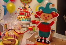 CumpleañosTematica Circo