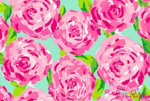 All things LILLY!      / I have a huge obsession with bright / vibrant colors and various prints and there is only one designer who understands that.....Lilly Pulitzer!