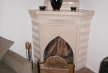 fireplaces / by Lucie Wood