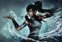 avatar:a lenda de korra / a lenda de aang