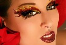 Avante garde make up
