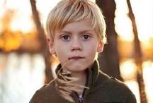 Little boy hair cues