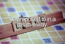 Bucket List / Everything I want to do in life!