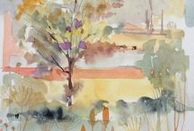 Water Colour Paintings & Ideas
