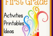 1st Grade ideas / by Tina Hussey