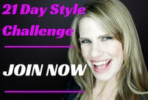 21 Day Style Challenge / Are you ready for a Challenge?  Are you ready to kick your Style Rut to the Curb?  Are you ready to become a MIX and MATCH expert?  http://www.styleangel.com/21-day-style-angel-challenge/  I have designed this 21 day challenge for you to kick your Style Rut to the curb and to get really great at Mixing and Matching your wardrobe.  $25 Early Style Bird ends July 31st!