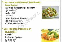 Astuces recettes avec tupeware