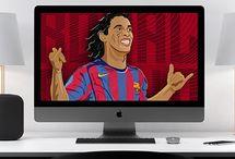 Ronaldinho Gaucho Digital Art