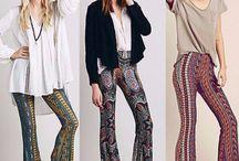 Hippie styles