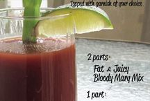 Thirsty Thursday / Recipes to start off your weekend!