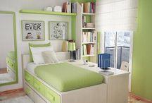 habitaciónes verdes