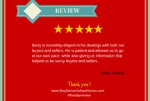 Client Reviews / Reviews and recommendations from past clients of Barry Kunselman