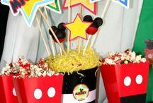 Mickey egeres szülinapi buli / Kisfiam 3. szülinapjára
