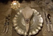 Place Settings / Tablescapes / by Glitterbelle