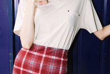 •°Plaid Skirt°•