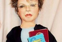 Куклы и портреты по фото / Куклы и портреты по вашим фото. Делаю из капрона и синтепона. Принимаю заказы.