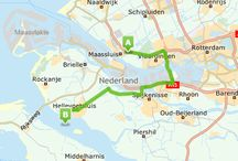 route hellevoetsluis