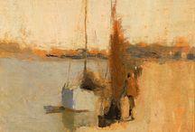 Frank Edwin Scott paintings